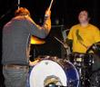 Graham on cymbal