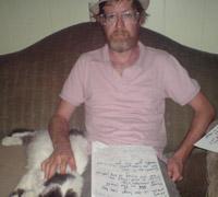 Brendan + dog