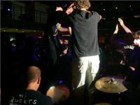 fan on bass drum