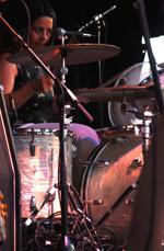 Jicks drummer Janet Weiss