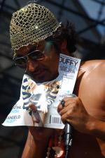 King Khan's 'Duffy bib'