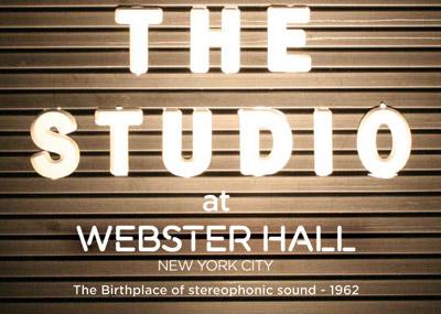 Studio @ Webster Hall