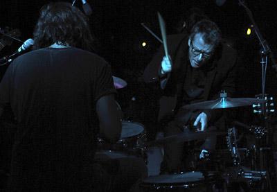 Matt Berninger on drums...