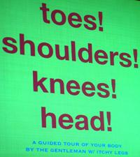 """""""Toes! Shoulders! Knees! Head!"""""""