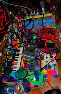 Dan Deacon's instrument