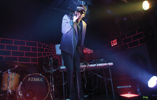 Theophilus London (downstairs)