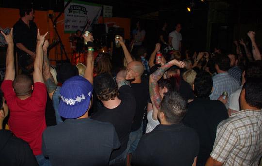 The Bronx crowd