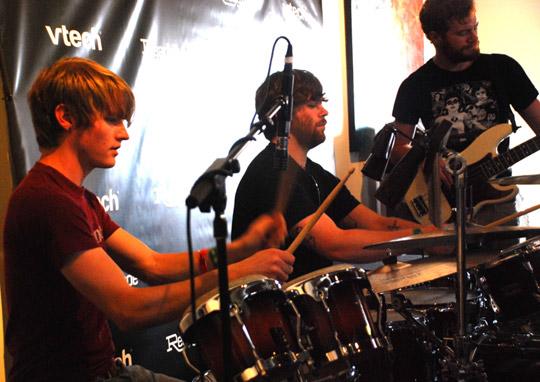 synchronized drumming