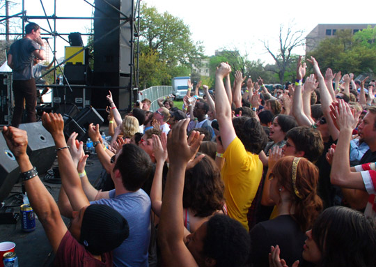 The Thermals & fans