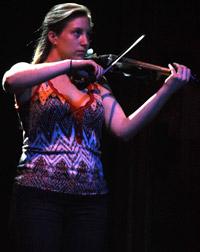 Zeller's Yamaha electric violin