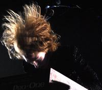 Haines on keys - and hair