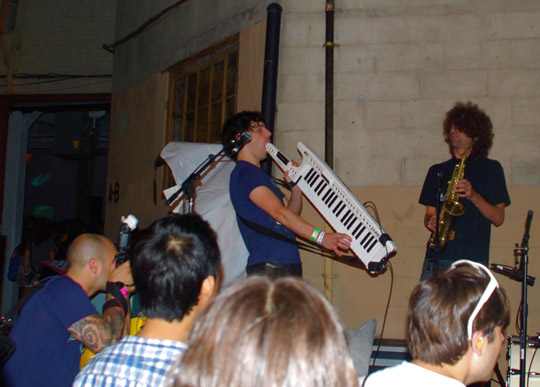 swallowing the keytar
