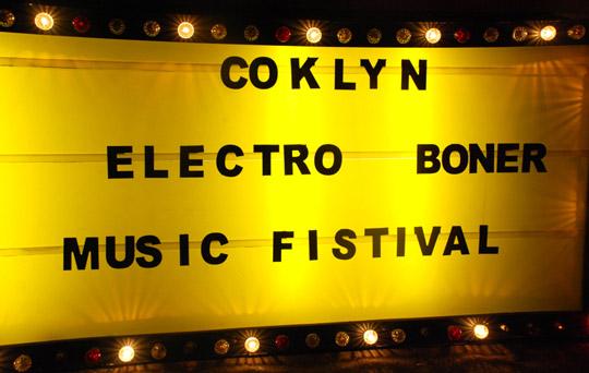 Coklyn Electro Boner Music Fistival