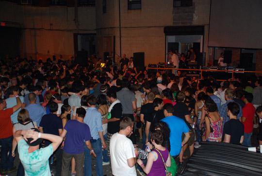 The Juan MacLean & crowd