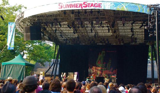 Dinosaur Jr. at SummerStage