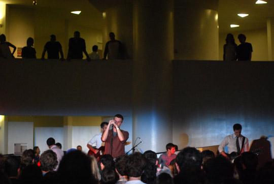 The Walkmen + crowd
