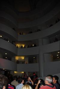 The Guggenheim's levels