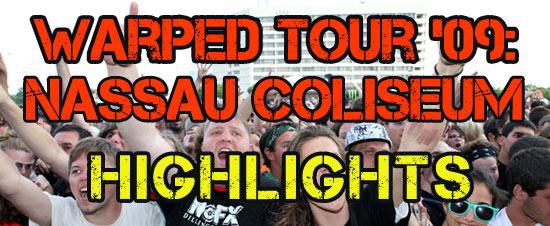 Warped Tour '09: Nassau Coliseum