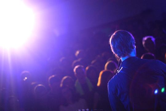 Julian Plenti + crowd
