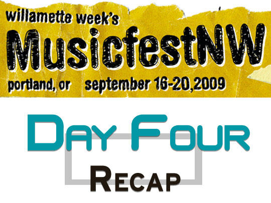 Music Fest NW Day Four