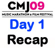 CMJ 2009 Day One Recap