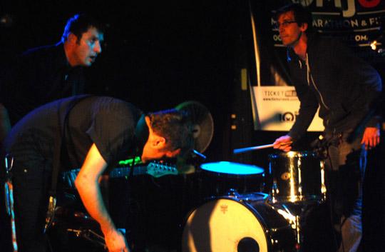 Red Collar w/ semi-drummer