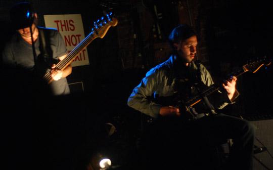 Patrick Watson's guitar & bass