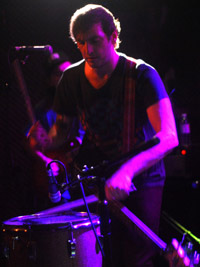 Lopez on percussion
