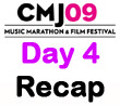 CMJ 2009 Day 4 Recap