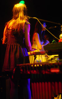 Annie Hart & xylophone