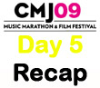 CMJ 2009 Day 5 Recap