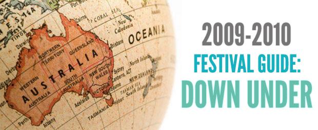 2009/2010 Festival Guide Down Under