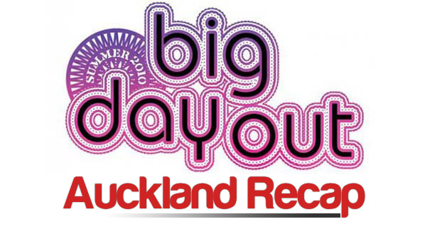 Big Day Out 2010 : Auckland Recap