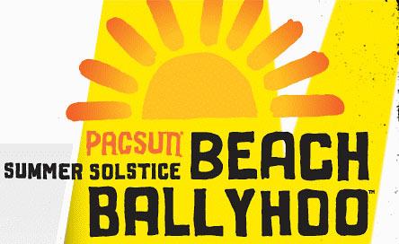 Pacsun Summer Solistice Beach Ballyhoo