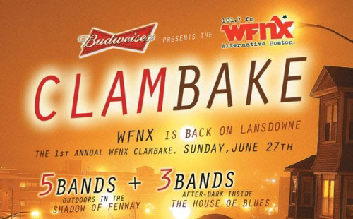 WFNX Clam Bake