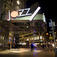 Jazz at Lincoln Center entrance
