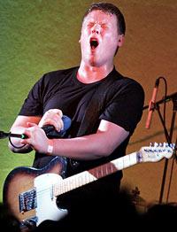 Adam Thompson, yelling contest winner
