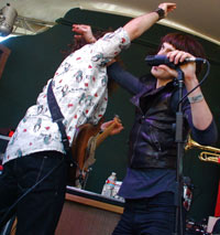Foxy Shazam & guitarist