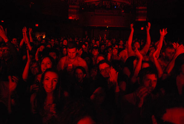 Shout Out Louds crowd