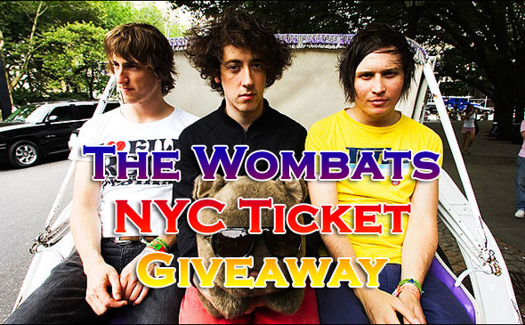 The Wombats Ticket Giveaway