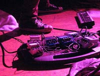 Doug Gillard's pedals