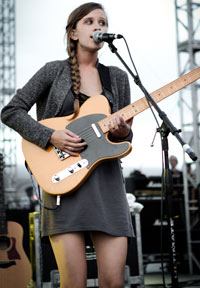 The Dirty Projectors' Amber Coffman