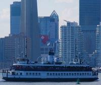 one of Lake Ontario's ferries