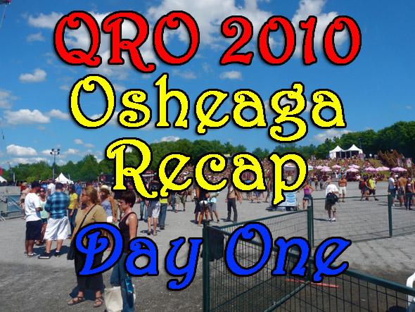 Osheaga 2010 : Day One Recap