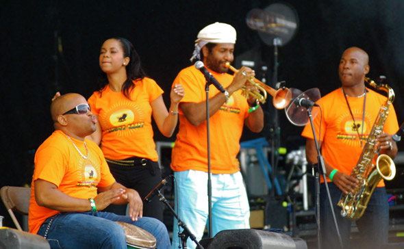 Jimmy Cliff orchestra
