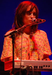 Alexandra Lawn on keys
