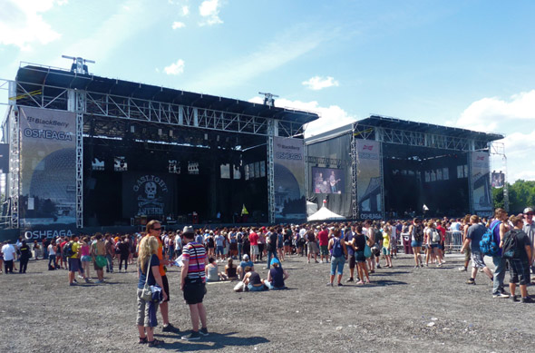 two Main Stages