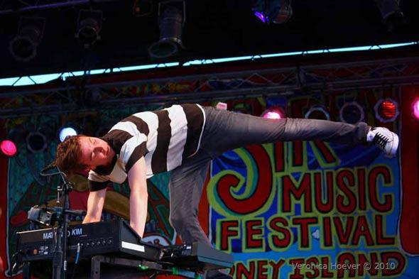 Matt kicks out the jamz