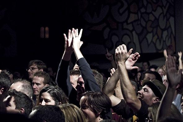James crowd