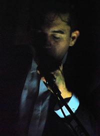 Matthew Dear in darkness